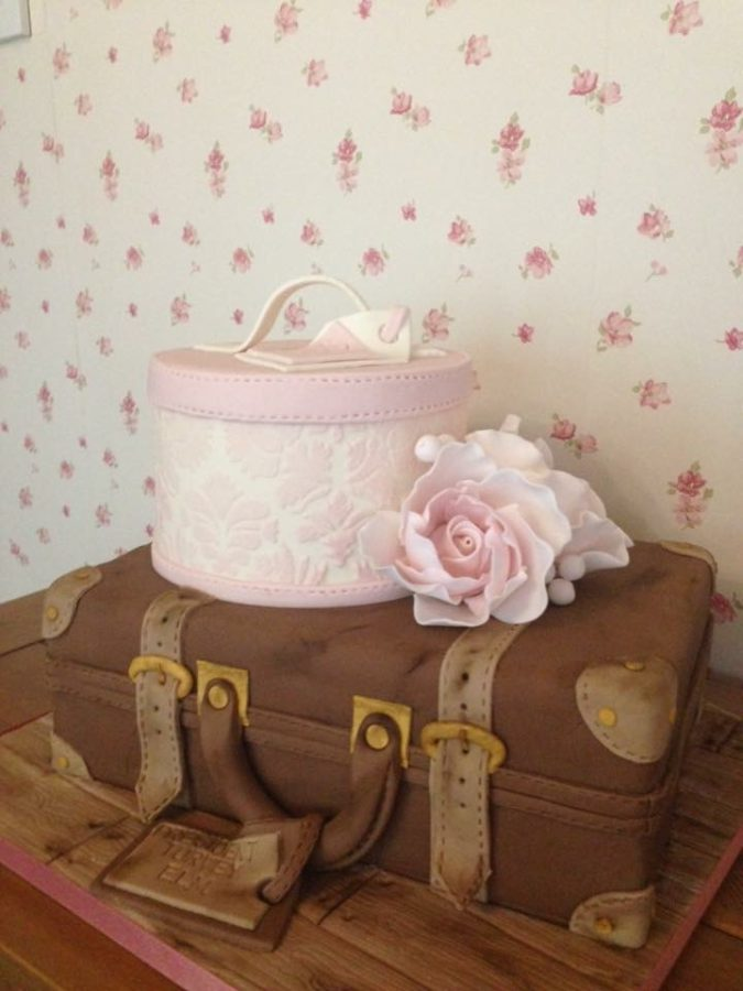Hat & Suitcase Case