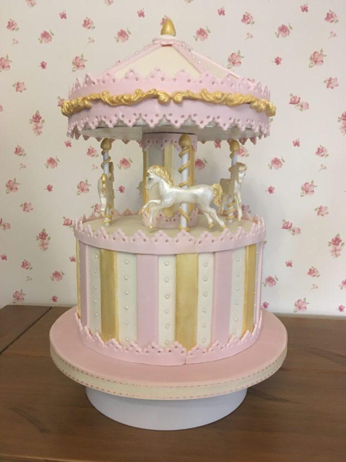 Carousel Celebration Cake