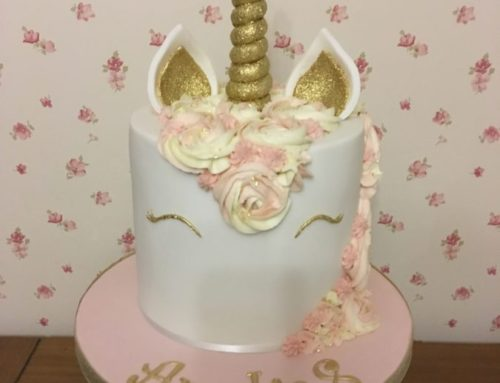 Unicorn Celebration Birthday Cake