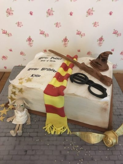 Harry Potter Celebration Birthday Cake
