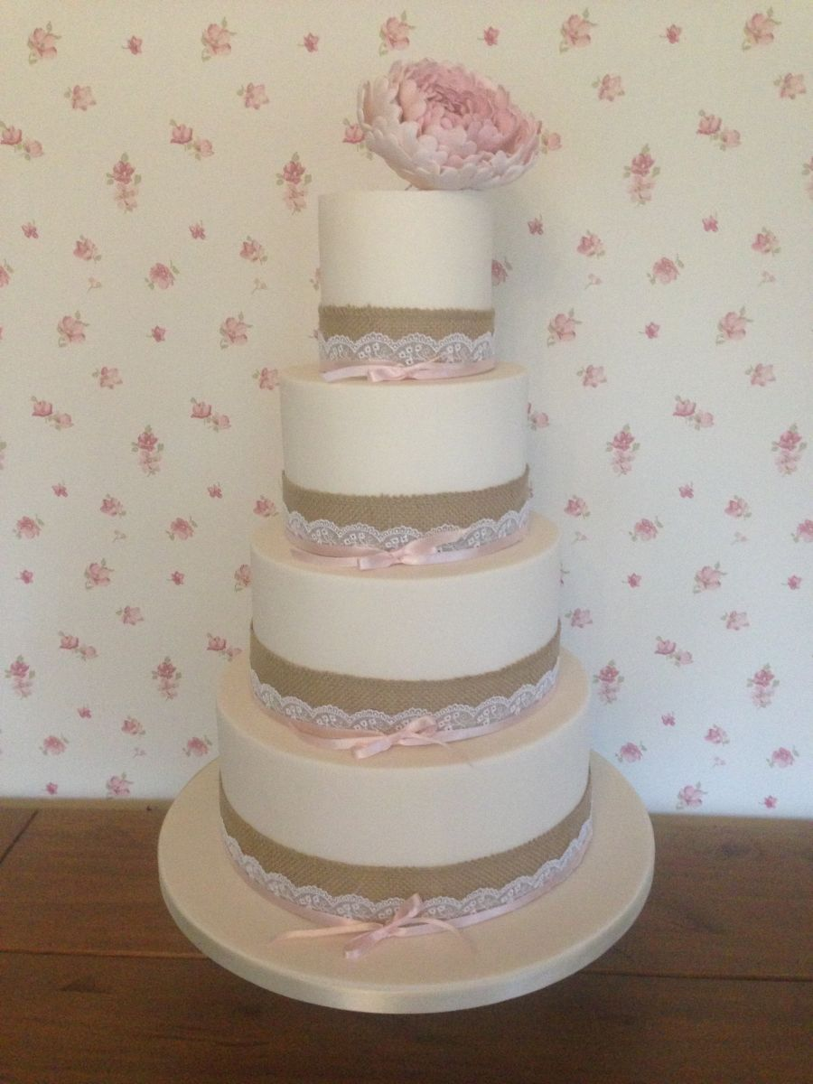 Rose Gold And Black Wedding Cake Dreams And Wishes Cake Company