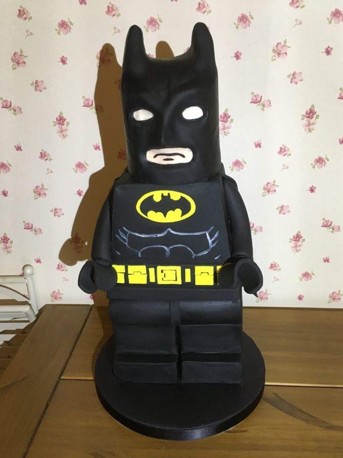 Batman Handmade Celebration Cake