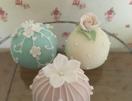 Sphere Mini Cakes
