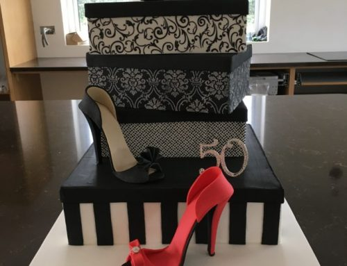Shoe Box Celebration Cake