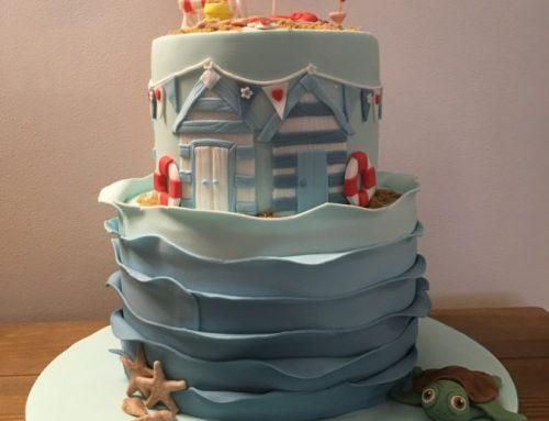 Beach Celetration Cake