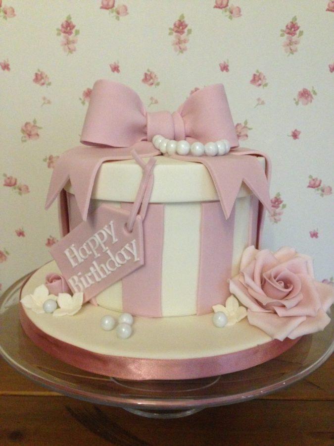 Fantastic Hat Box Celebration Cake Dreams And Wishes Cake Company Funny Birthday Cards Online Aboleapandamsfinfo
