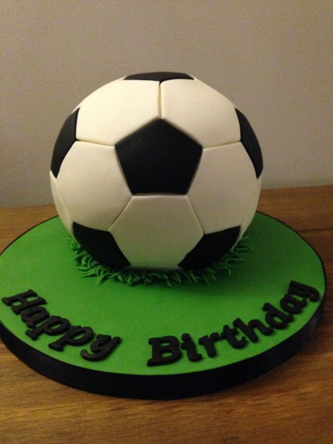 Cool Football Birthday Cake Dreams And Wishes Cake Company Personalised Birthday Cards Paralily Jamesorg