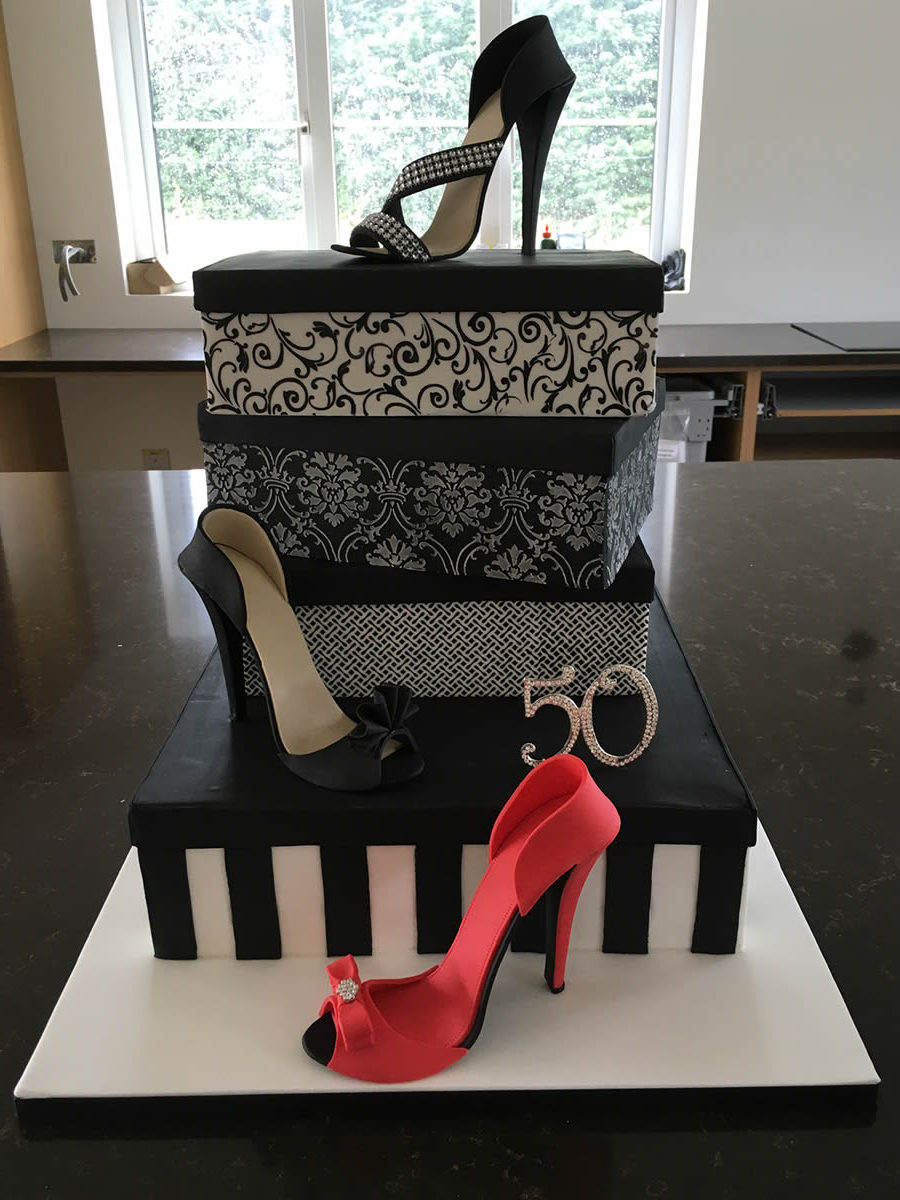 Shoes Celebration Cake