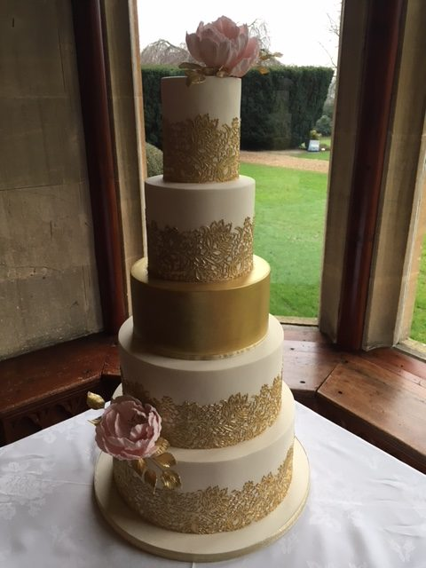 blush and gold wedding cake wedding cakes makers somerset archives dreams and wishes 12032